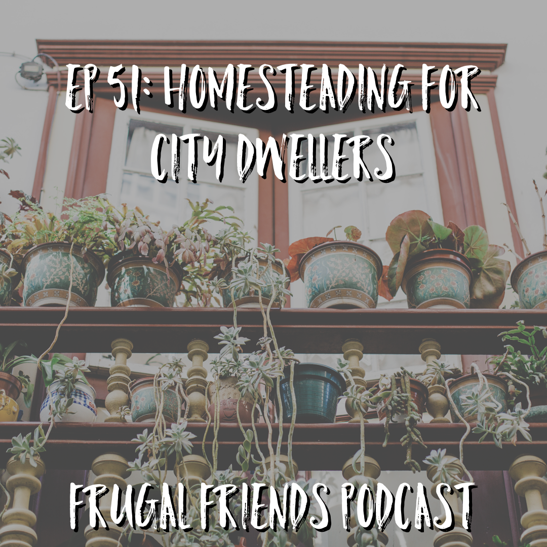 Episode 51: Homesteading for City Dwellers